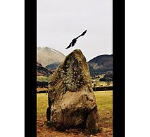 Castlerigg Stone Circle Crow Photographic Print