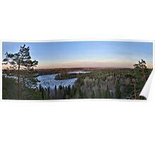 Lake Aulanko Poster