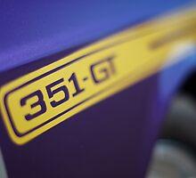 Purple Ford Falcon XY GT 351 by John Jovic