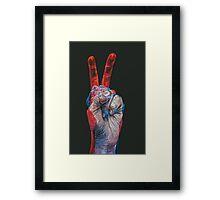 victory! Framed Print