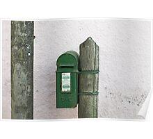 Kinsale postbox Poster