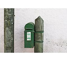 Kinsale postbox Photographic Print