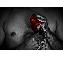 The schizophrenia of the broken hearted part 3 Photographic Print