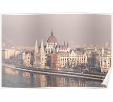 Parliament Hungary Poster