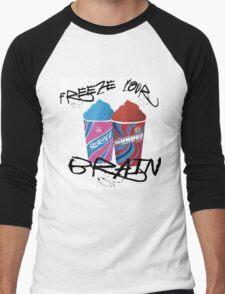 Freeze Your Brain Men's Baseball ¾ T-Shirt