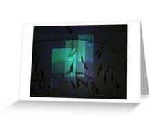 Transparent glasses Greeting Card