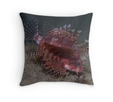 Dwarf Lionfish Throw Pillow