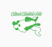 Mixed Martial Arts Rear Naked Choke Green  Unisex T-Shirt