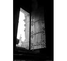 The door is open Photographic Print