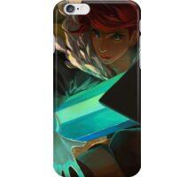 Red (Transistor) iPhone Case/Skin