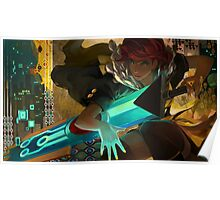 Red (Transistor) Poster