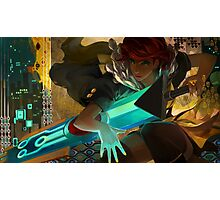Red (Transistor) Photographic Print