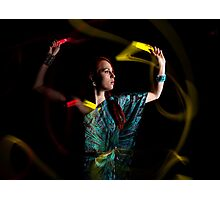 Light Movement Photographic Print