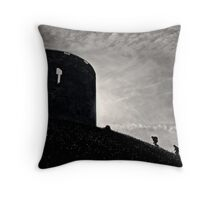 A photographic destruction of history Throw Pillow
