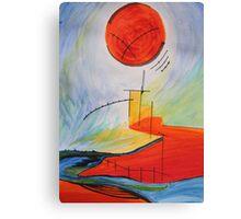 Landscape Echo-2 Canvas Print