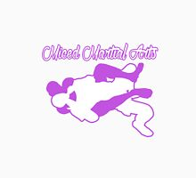 Mixed Martial Arts Rear Naked Choke Purple  Unisex T-Shirt