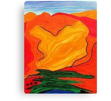 Landscape Echo-3 Canvas Print