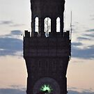 Baltimore Clock Tower at Sunset by Robin Lee