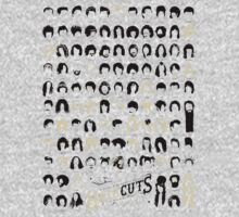 A History of Musical Hair Cuts T-Shirt