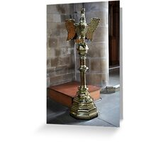 The Eagle Lectern Greeting Card