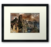A History of Old Magic. Framed Print
