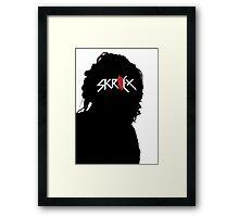 Skrillex - Sillhouettes Framed Print
