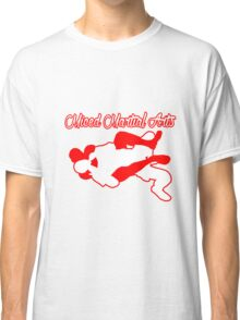 Mixed Martial Arts Rear Naked Choke Red  Classic T-Shirt