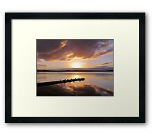 ~ Sunset ~ April 17 ~ 2011 ~ Framed Print