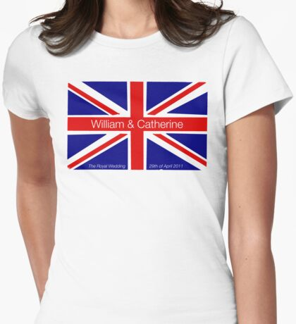 Royal Wedding II Womens Fitted T-Shirt