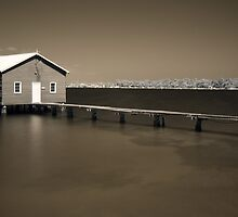 Crawley Boatshed by Artimagery