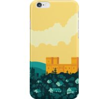 Golden castle iPhone Case/Skin