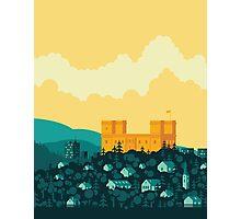 Golden castle Photographic Print