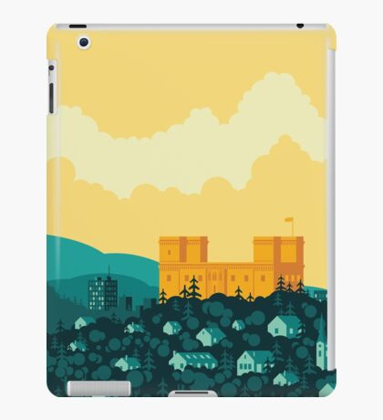 Golden castle iPad Case/Skin