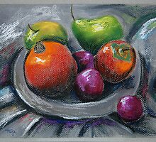 Still Life with Fruit by Tanja Udelhofen