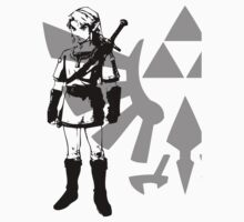 Legend of Zelda - Link Silhouette by Animenace