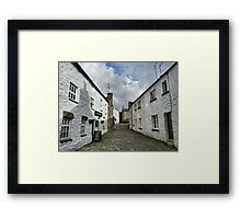 Stone Close Tearooms. Framed Print
