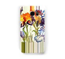 Irises in flower show Samsung Galaxy Case/Skin