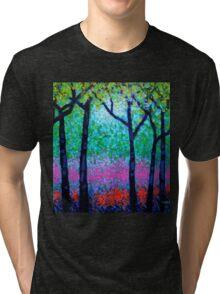 Spring Woodland Tri-blend T-Shirt