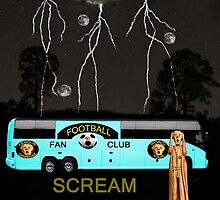 Football Tour Scream by Eric Kempson