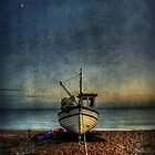 Beach Mooring by Mike Matthews