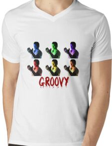 Army of Darkness - Groovy Mens V-Neck T-Shirt