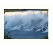 The Falls in the evening Art Print
