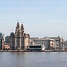 Springtime Mersey Cruise by Tony  Glover