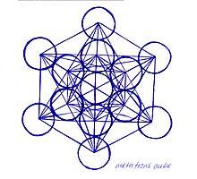 Metatron's Cube Photographic Print