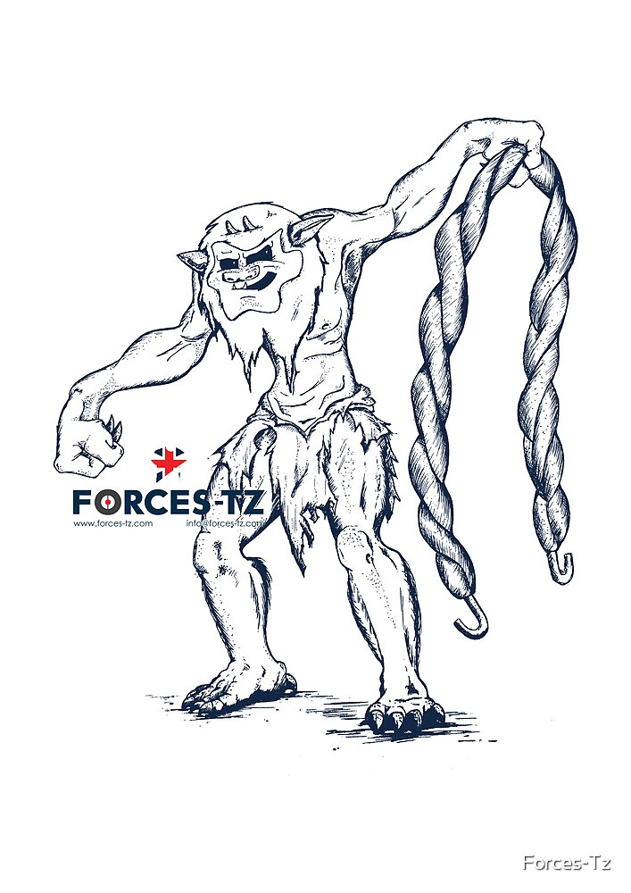 Forces Tz Twisty Troll by Forces-Tz