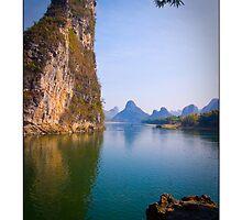 Li River, China Fine Art Poster by fotinos