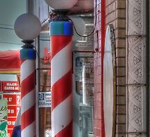 Old Fashion Barber Shop by vigor