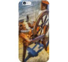 Old Vintage Wheel iPhone Case/Skin
