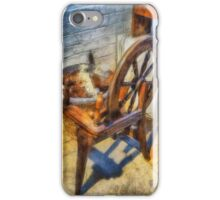 Old Vintage Wheel iPhone Case/Skin