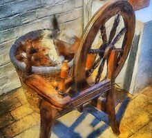 Old Vintage Wheel by Ian Mitchell